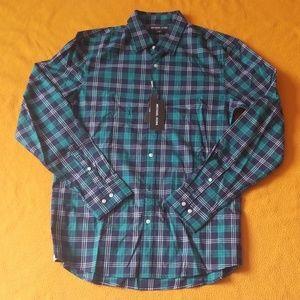 $128 Michael KORS Stretch Men LS Shirt L